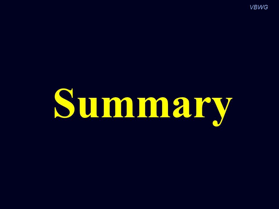 VBWG Summary