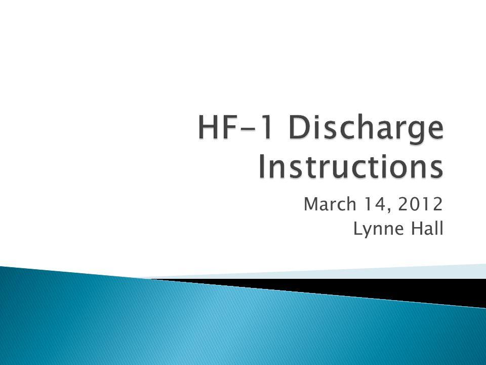 March 14, 2012 Lynne Hall