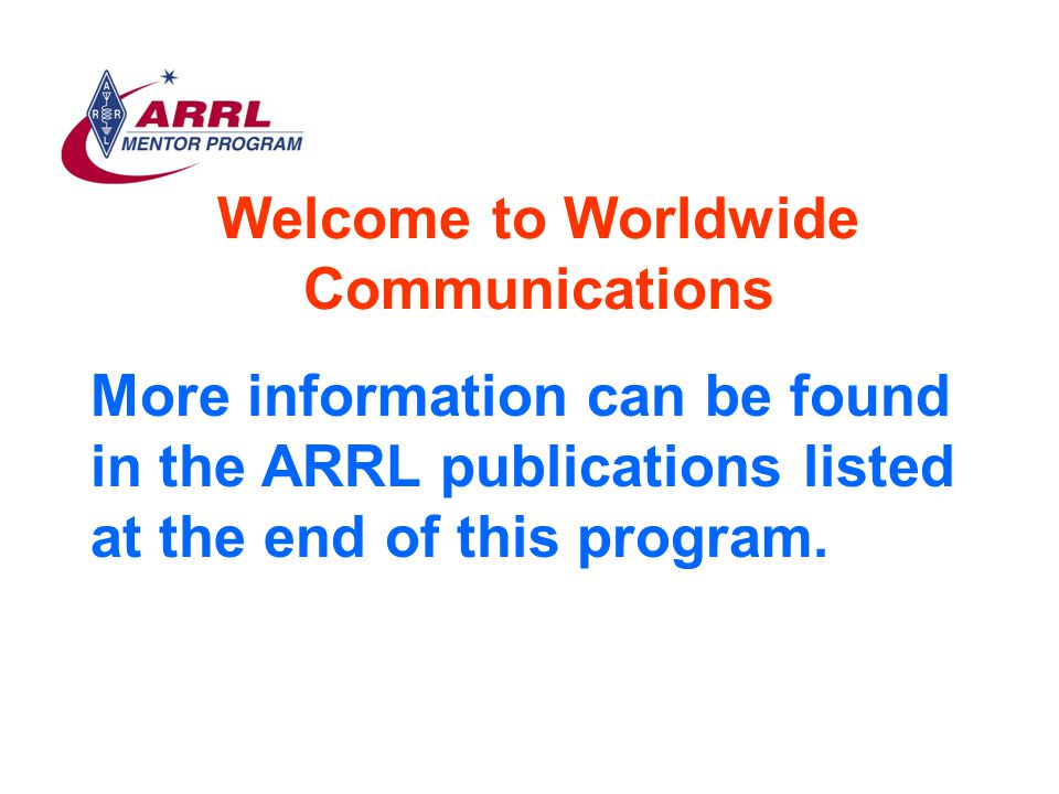 RF Safety Complete information about RF safety can be found on the ARRL website http://www.arrl.org/tis/info/rfexpose.html Or in the ARRL publication RF Exposure and You by Ed Hare, W1RFI