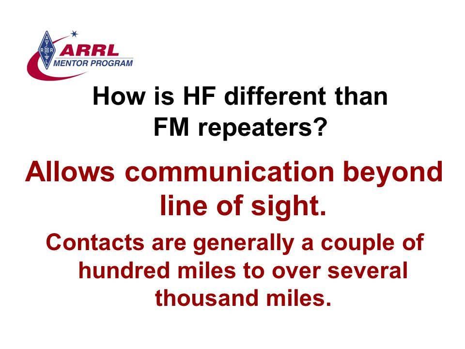 Transceivers What makes a good radio.