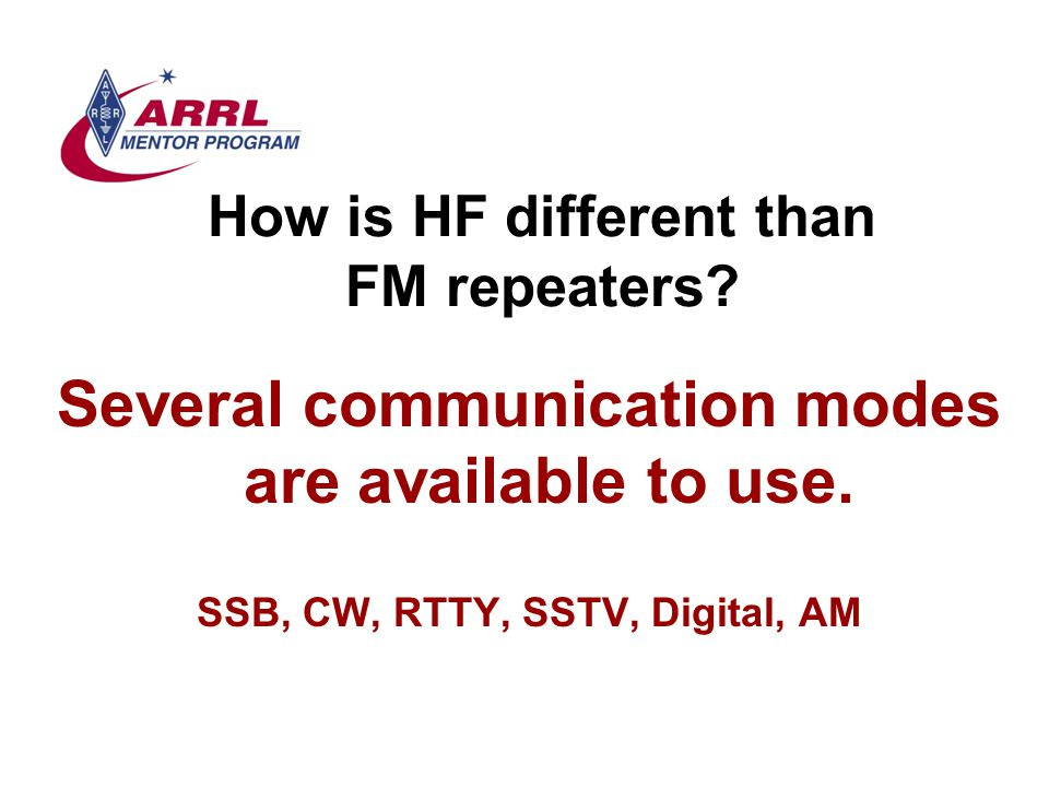 Transceivers What makes a good radio? Remember, you can't work them if you can't hear them.