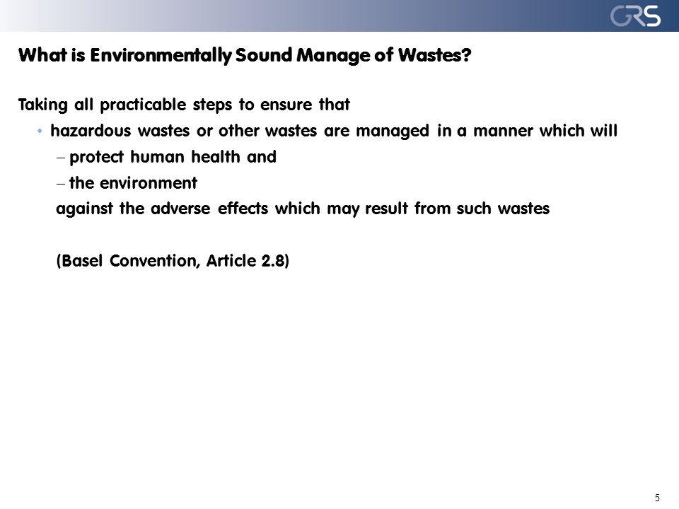 Specially engineered landfills III Opportunities and challenges 16 Opportunities Well established concept, already present in many developing countries Relatively low costs Challenges Safety may only predicted for some tens of years Mercury sulfide not thermodynamically stable in above ground landfills (oxidation, formation of elemental mercury) Present landfills may become future source of releases