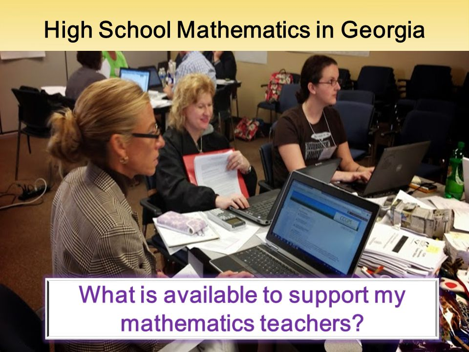 High School Mathematics in Georgia