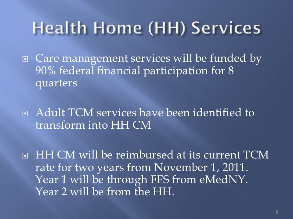  Converted TCM program slots will become part of a health home per approved HH application and will be monitored via the SPOA process  The LGU will manage movement into and out of TCM via the SPOA process  The HH will become a referral source to the SPOA for HH recipients who require access to former TCM slots  The HH will need to inform the SPOA if an individual no longer requires a the support of a former TCM slot  The SPOA will approve the movement out of and in to the high touch slots in a HH 10
