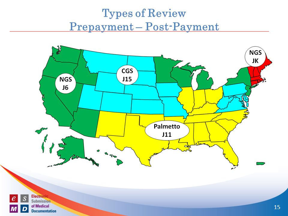 n Letters are sent to: Home Health Provider Types of Review Prepayment – Post-Payment 15