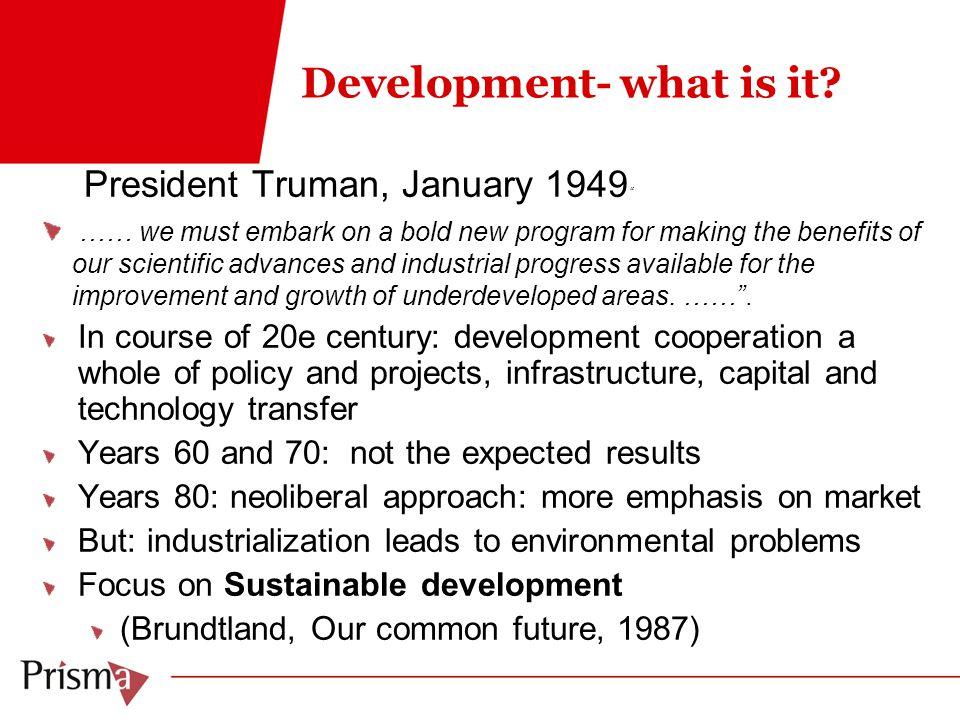 Development- what is it.