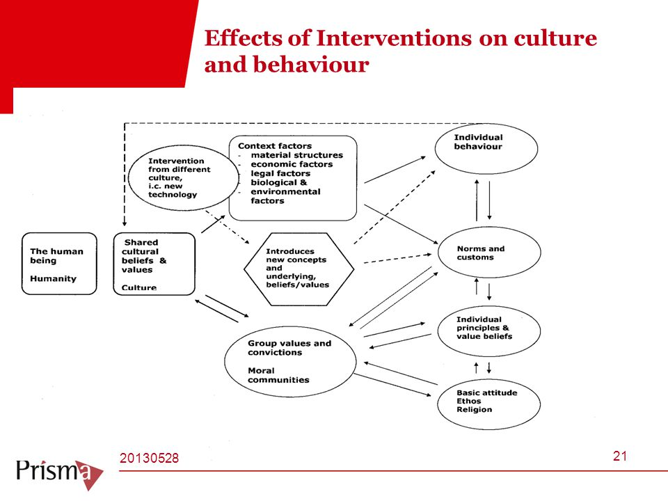 Effects of Interventions on culture and behaviour EU-Cord#HJ21 20130528