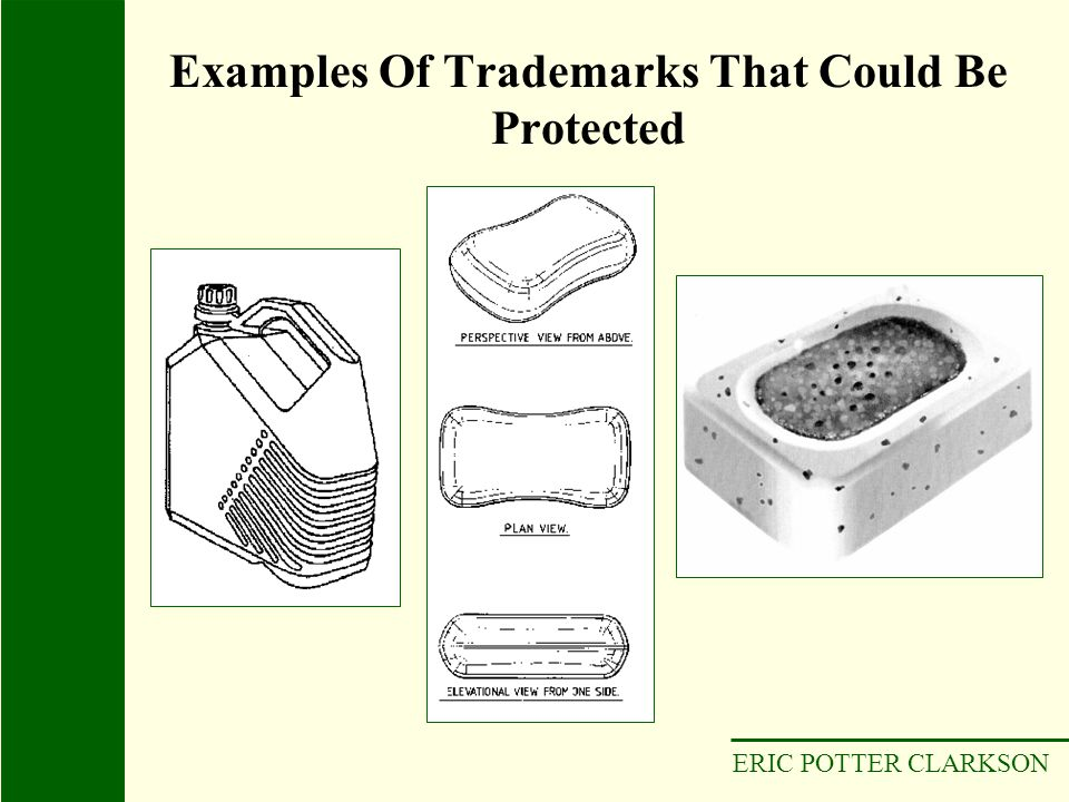 ERIC POTTER CLARKSON Examples Of Trademarks That Could Be Protected