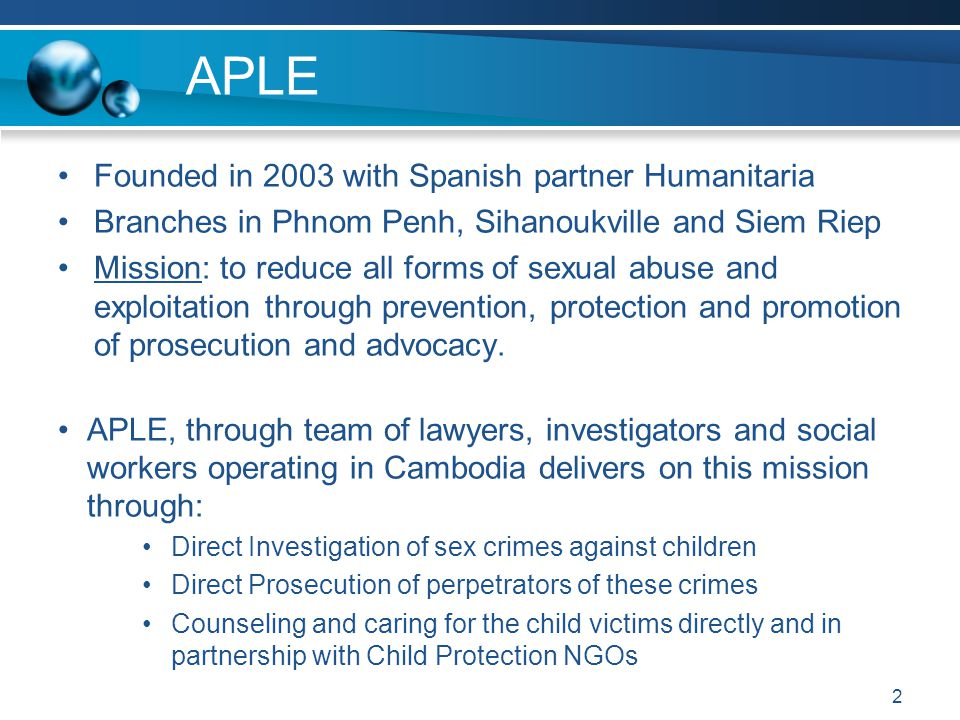  National/International Cooperation in investigative and prosecutorial actions Vice chair of the Cambodian Law Enforcement Taskforce Cambodia's Anti Human Trafficking and Immigration Departments U.S Department of Justice (ICE & FBI) Europol Eurojust Interpol CEOP (UK police) German Federal Police Dutch Police Australian Federal Police  Accolades International Cooperation 13
