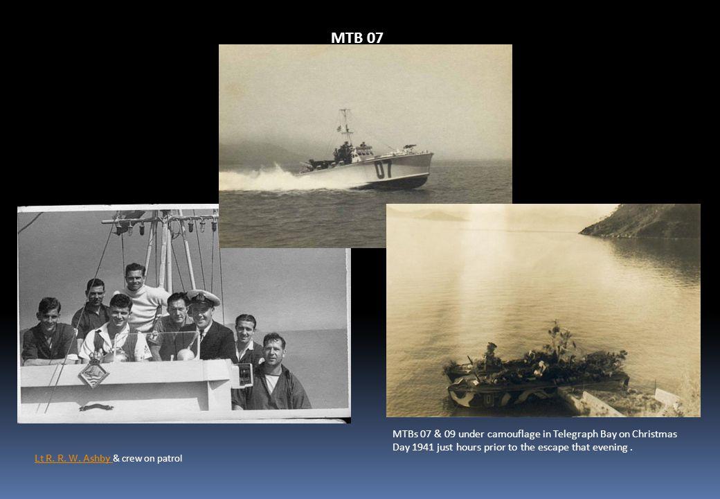 2 nd Motor Torpedo Boat Flotilla MTB.07 [ex 13] (comp 31 Aug 1938) MTB.08 (3 Sep 1937) MTB.09 (8 Oct 1937) MTB.10 (11 Jul 1938) MTB.11 (26Jul 1938) MT