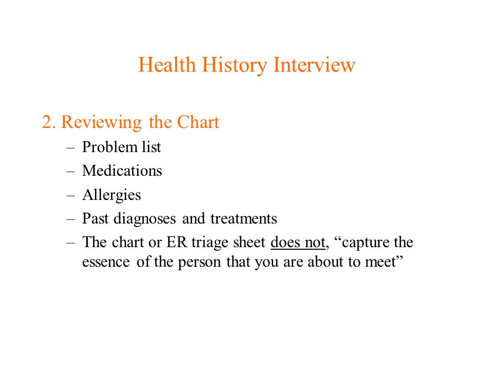 Techniques of Skilled interviewing Clarification: –Some patients words are ambiguous and require further discussion, I.e.