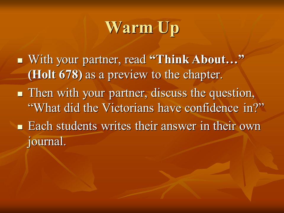 Key Vocabulary (Take Notes-write down EVERYTHING) Progress: advance or development toward betterment.
