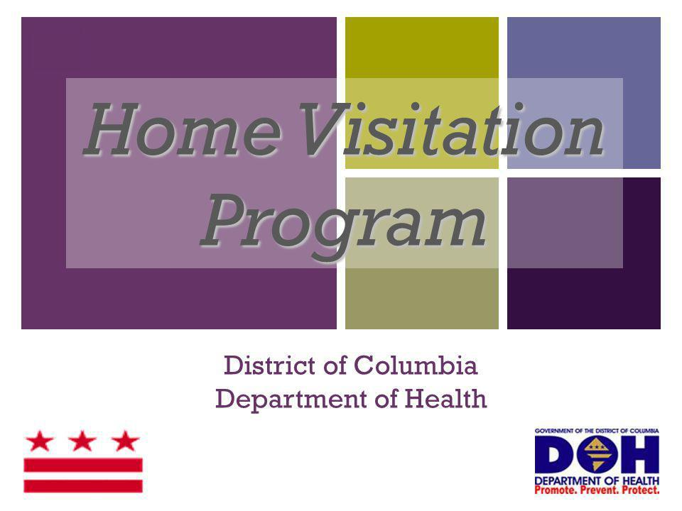 + Maternal, Infant, and Early Childhood Home Visiting Program (MIECHV) Funding from the U.S.