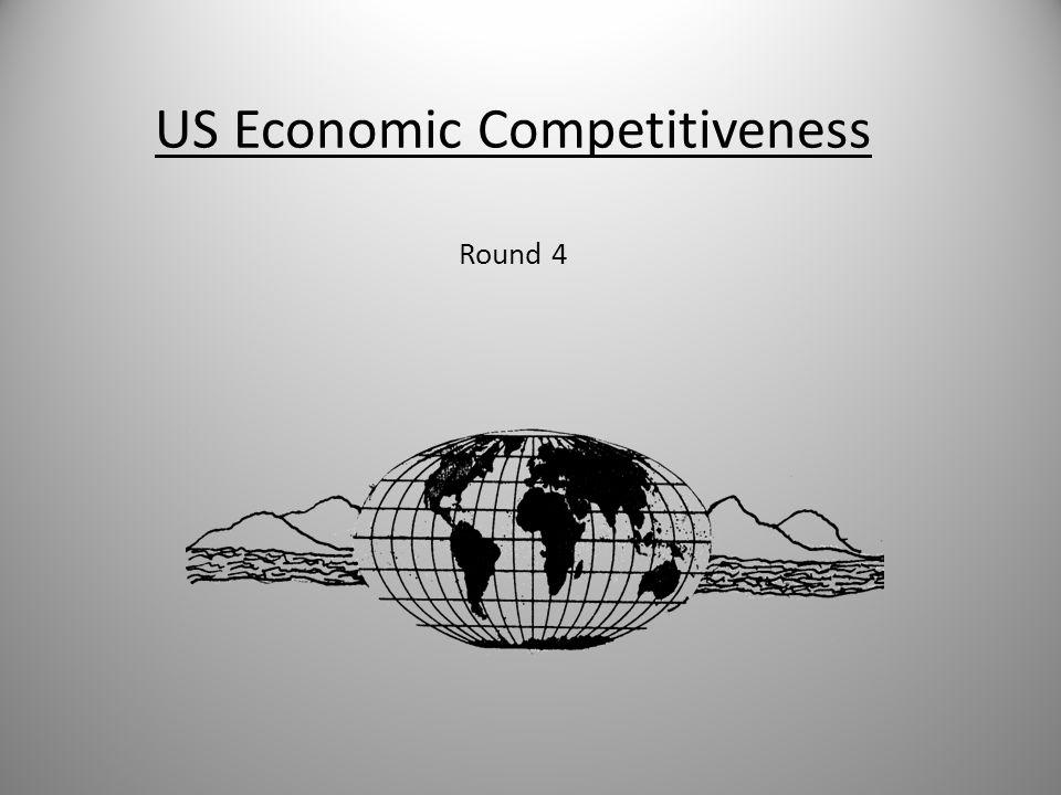 US Economic Competitiveness Round 4