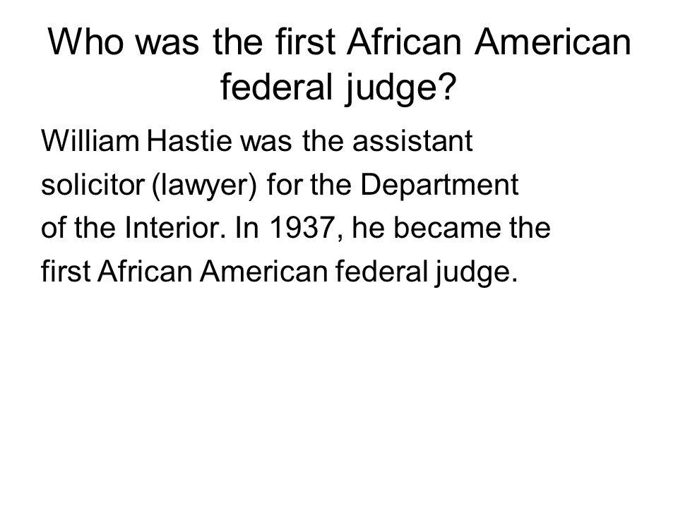 Who was Robert Weaver.