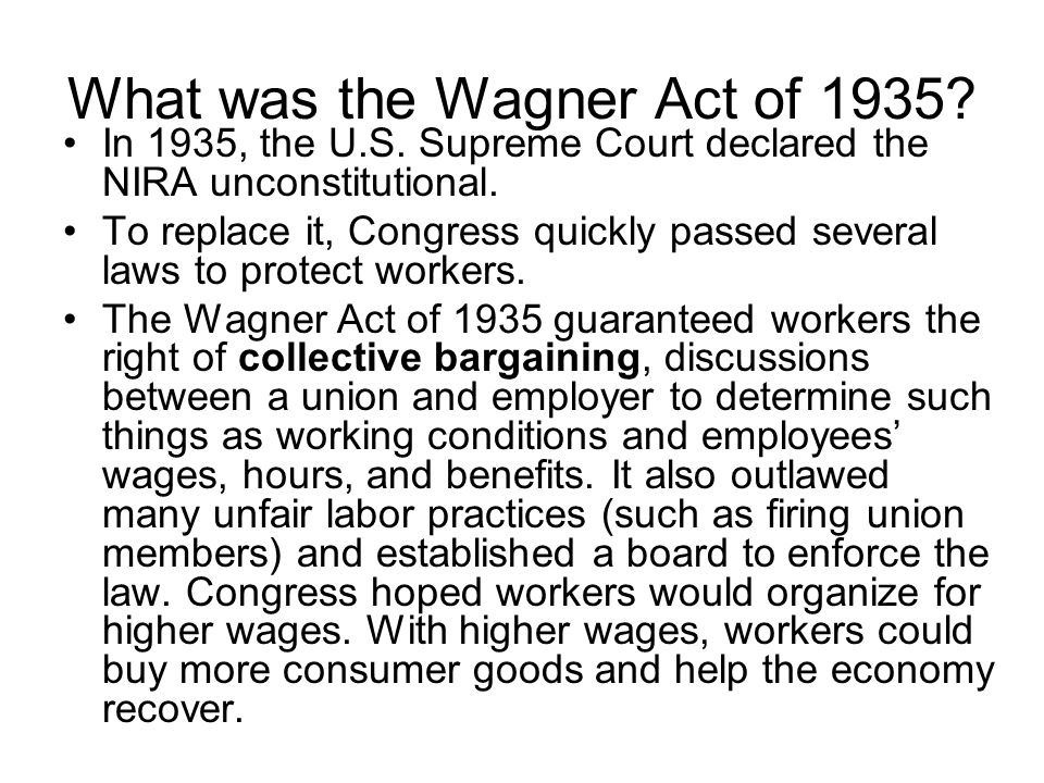 What is collective bargaining?