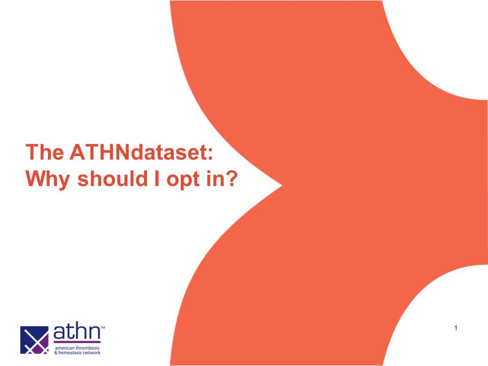 1 The ATHNdataset: Why should I opt in?