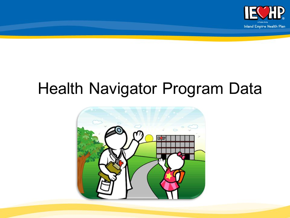 Health Navigator Program Data