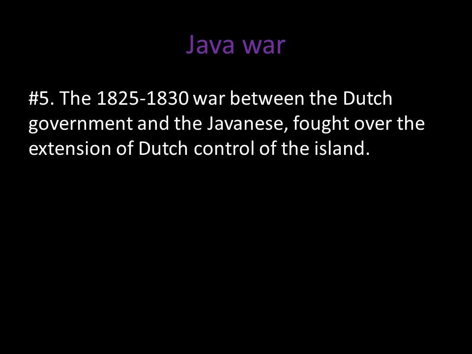 Java war #5.