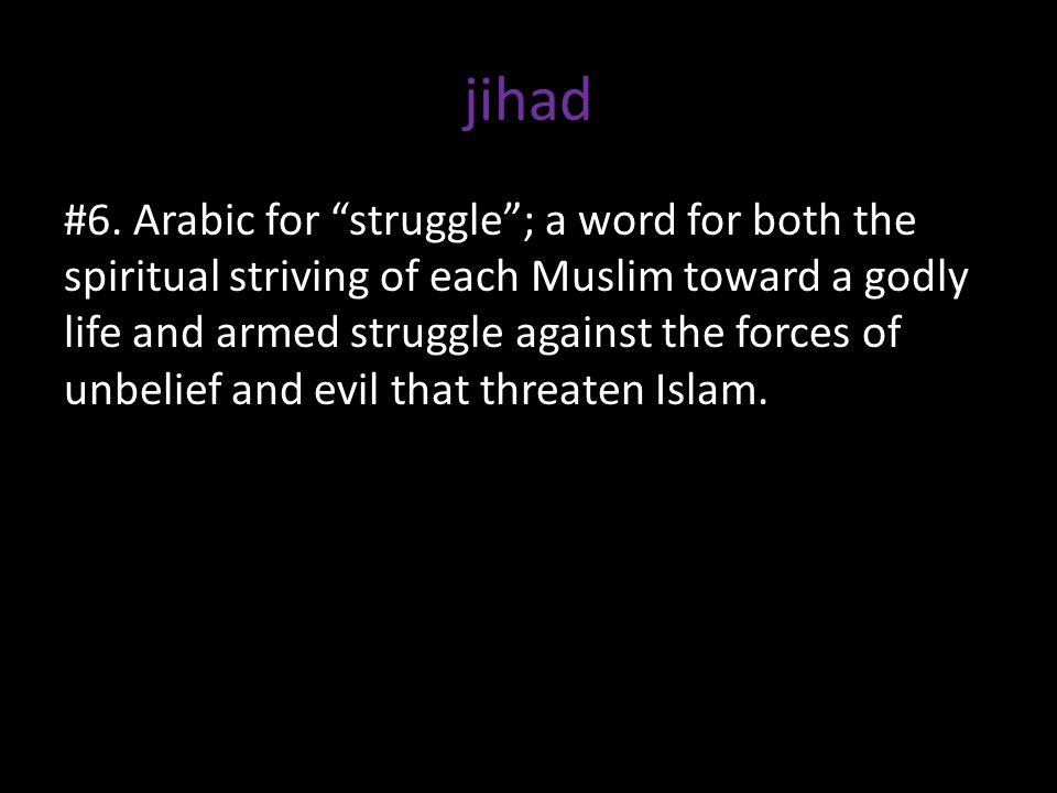 jihad #6.