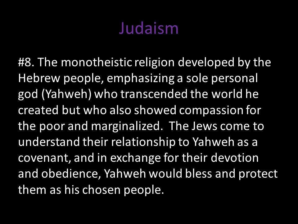 Judaism #8.