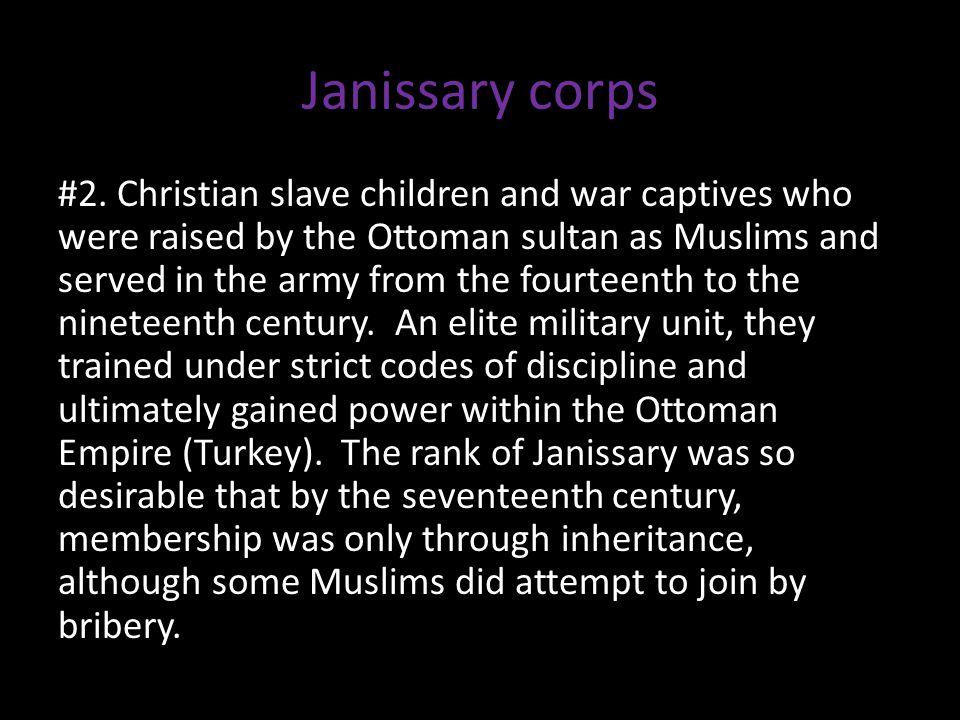 Janissary corps #2.