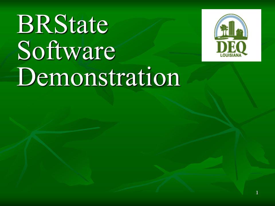 1 BRState Software Demonstration