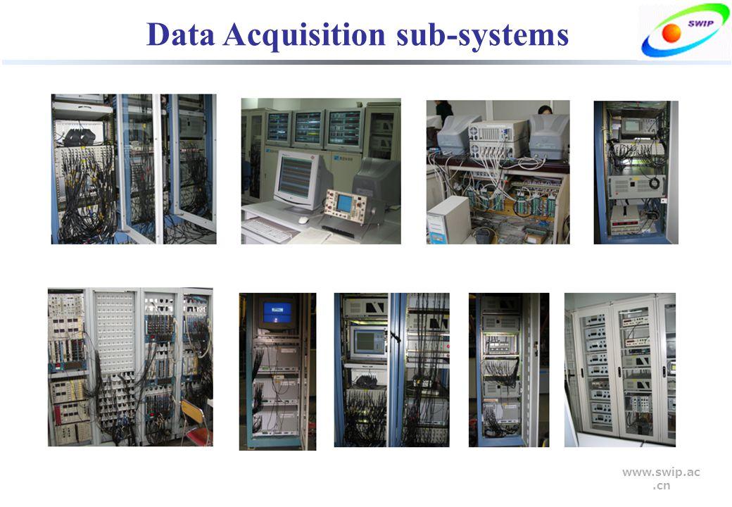 www.swip.ac.cn Data Acquisition sub-systems