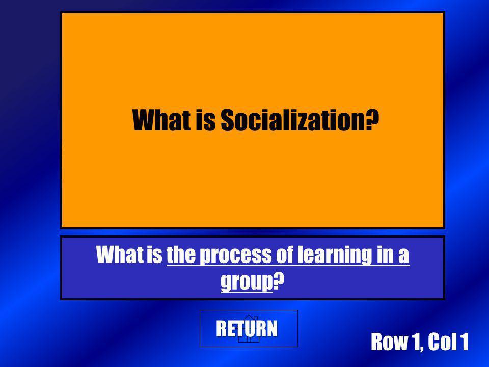 100 200 400 300 400 Socialization AGENTS OF SOCIALIZATION Deviance & Social Control Crime & Punishment 300 200 400 200 100 500 100