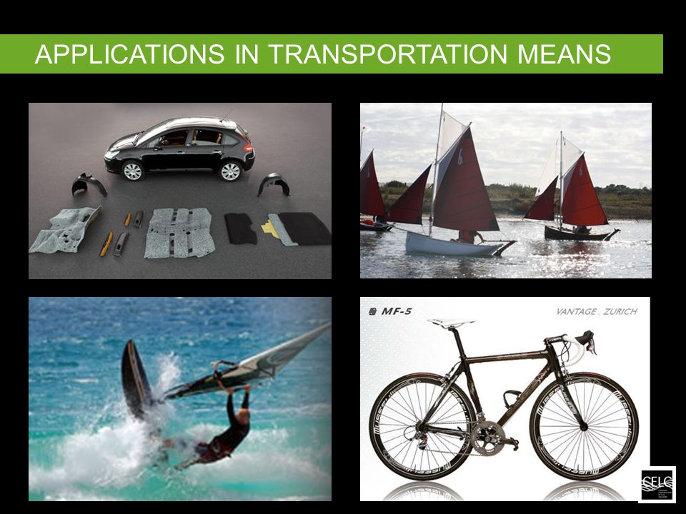 APPLICATIONS IN TRANSPORTATION MEANS