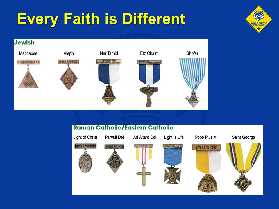 Every Faith is Different