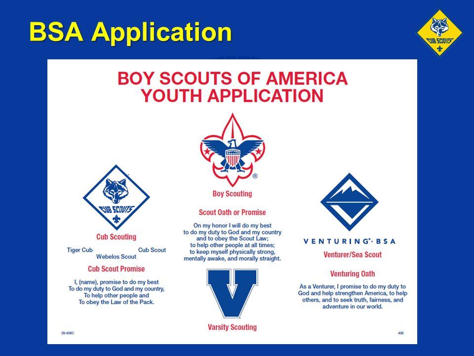BSA Application