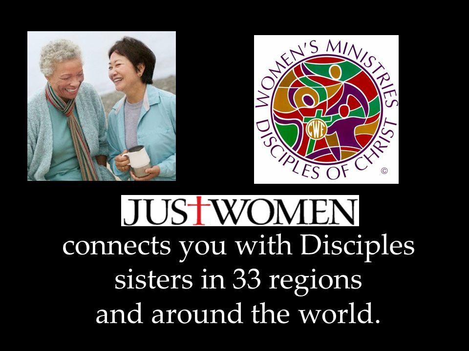 connects you with Disciples sisters in 33 regions and around the world.