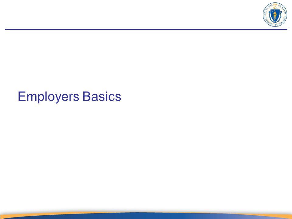 Employer – Program & Benefits tab