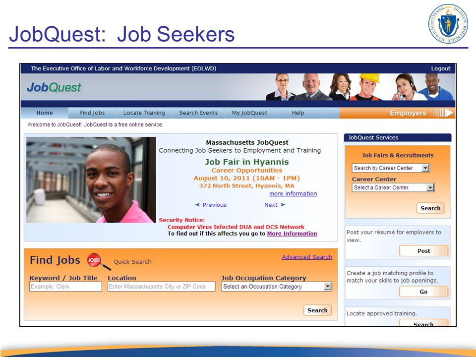 JobQuest: Job Seekers