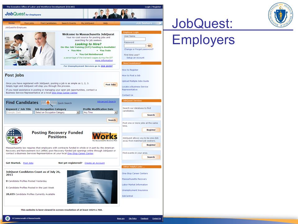JobQuest: Employers