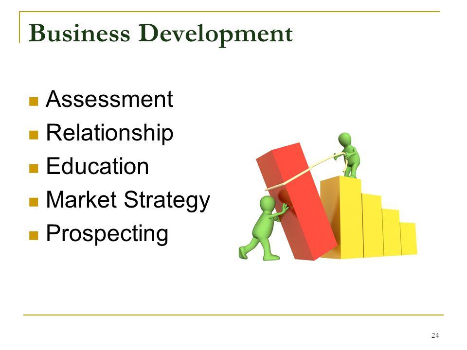 Business Development Assessment Relationship Education Market Strategy Prospecting 24