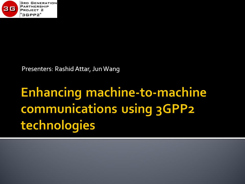 3GPP2 Technology Webinar  m2m is at the cusp of a major growth spurt…like wireless data in 1997 and Smartphones in 2006 Slide 26/19/2013