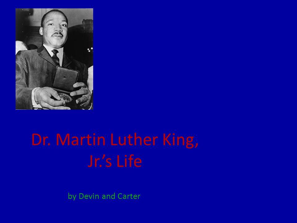 The Beginning Martin was born in Atlanta, Georgia on January 15, 1929.