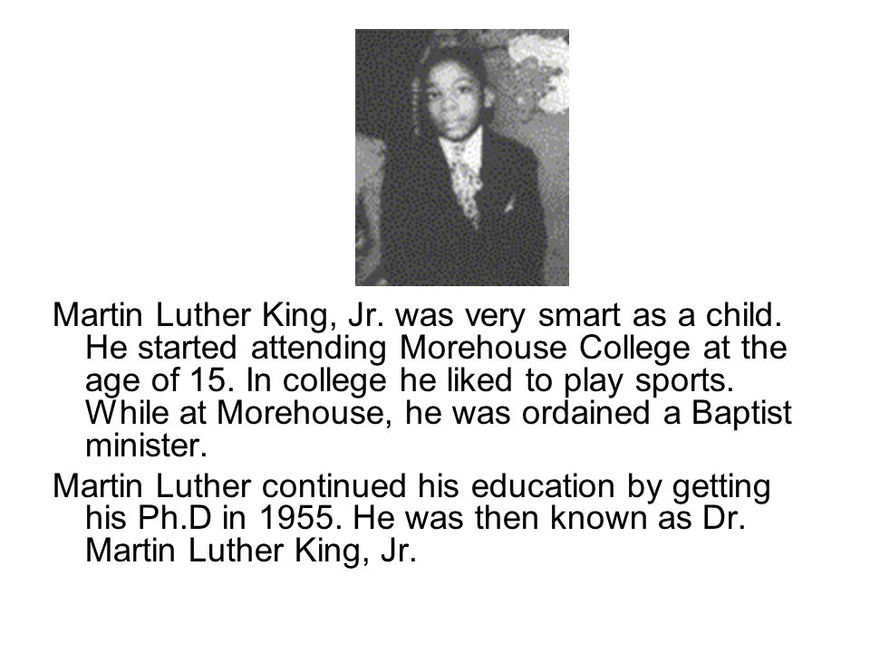In 1953 Dr. Martin Luther King, Jr. married Corretta Scott. The couple had four children.