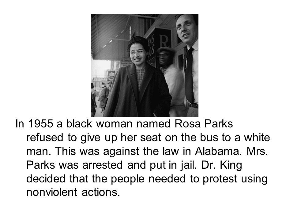 Dr.King formed the Montgomery Improvement Association.