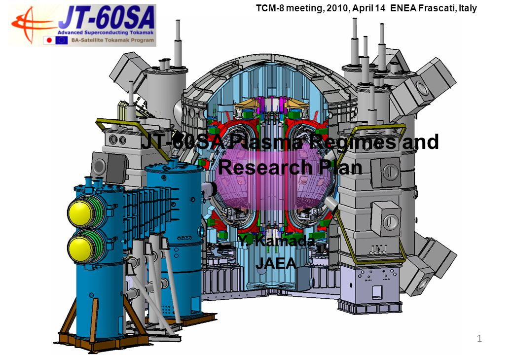The JT-60SA Project The JT-60SA project is conducted under the BA Satellite Tokamak Programme by Europe and Japan, and the Japanese National Programme.