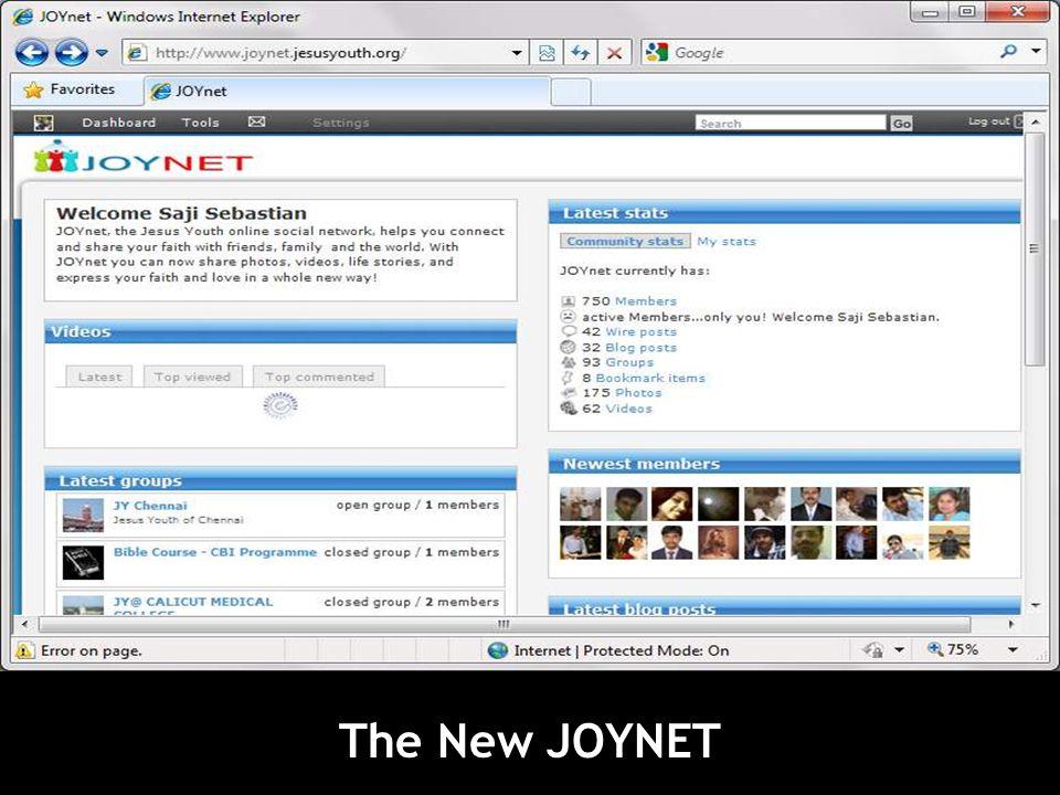 The New JOYNET