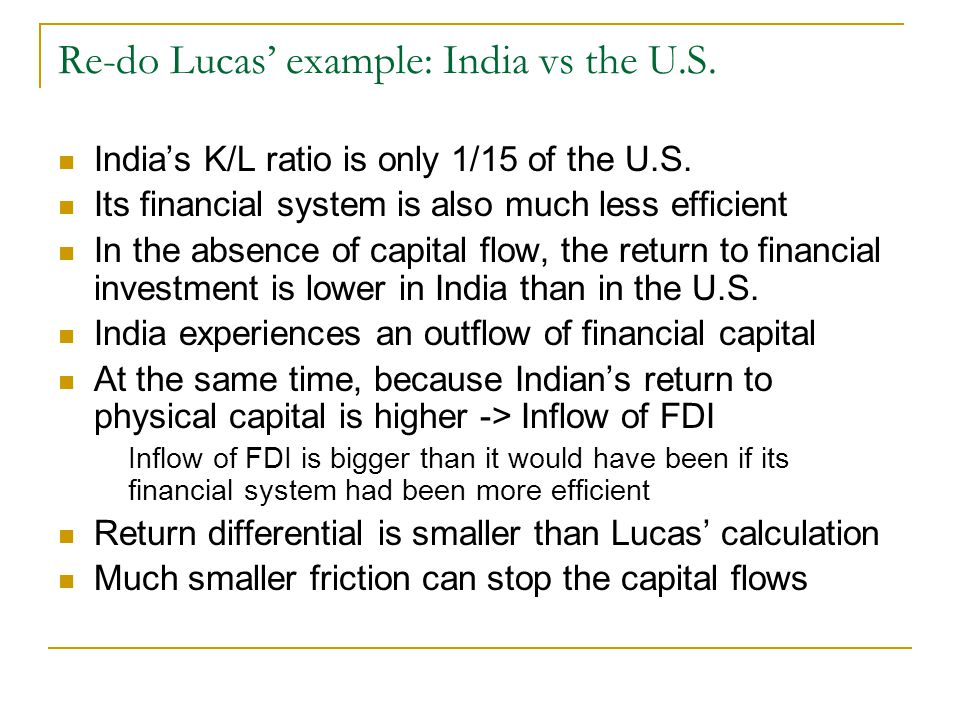 Contrasting effects of poor financial development vs.