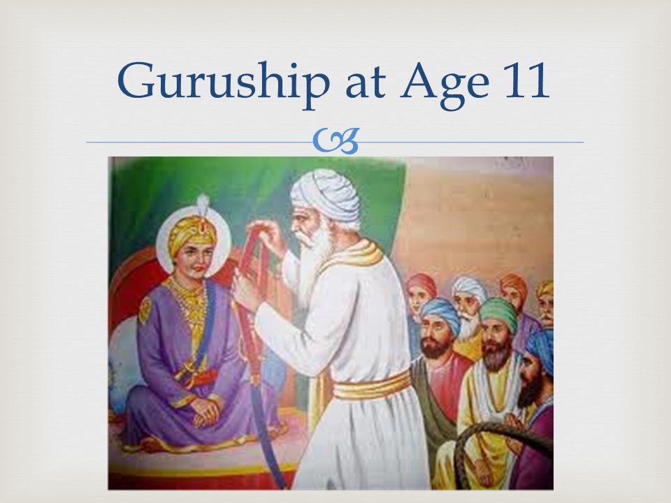  Guruship at Age 11