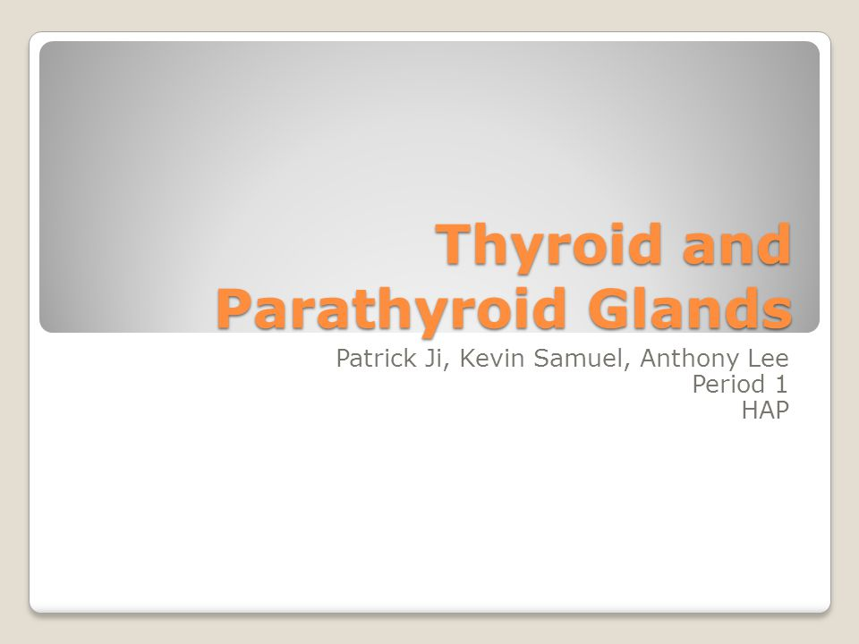 Concept Check 1.What is a symptom of Hyperparathyroidism.