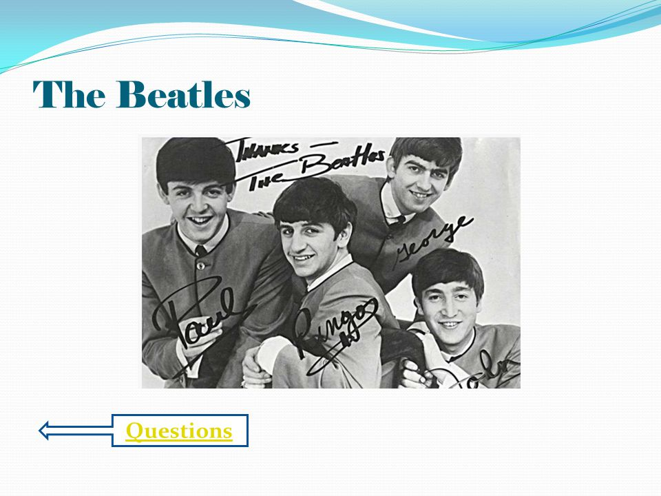 The Beatles Questions
