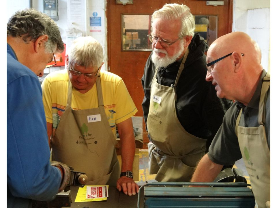 Younger volunteers are learning new skills and feel more 'work ready' 31 younger volunteers have spent almost 1,000 hours working with older volunteers in the Tool Shed.
