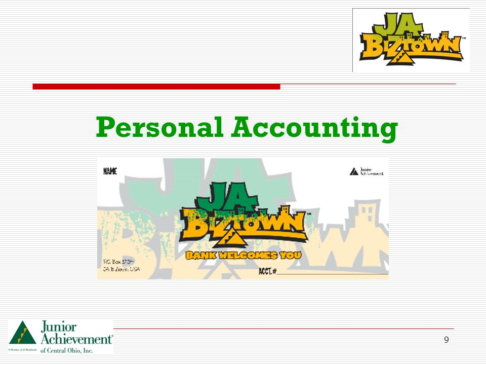 9 Personal Accounting