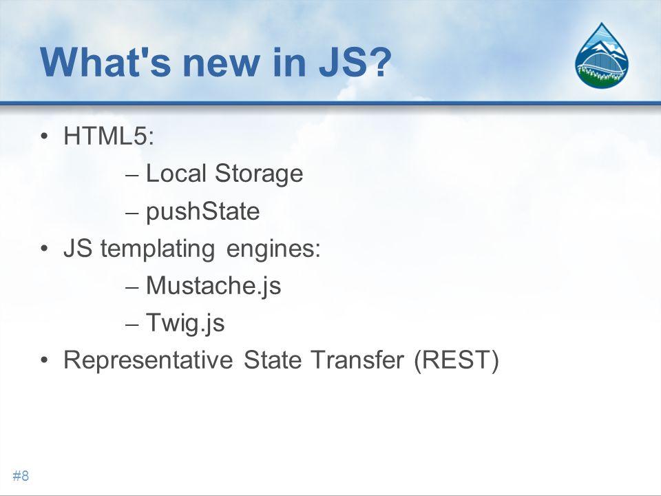 JavaScript client evolution #9